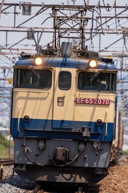 EF65-2070号機(5087レ) (2)