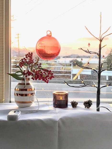 黄昏時のクリスマス