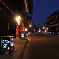 写真: 奈良井宿灯明まつり