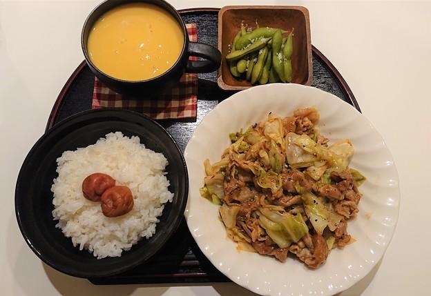 Photos: G先生にこれを。今夜のお夕食です。