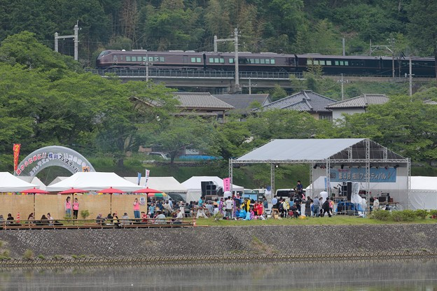 写真: E655 なごみ団臨