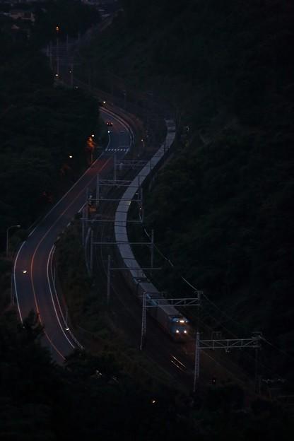 写真: 50レ佐川スーパーレールカーゴ