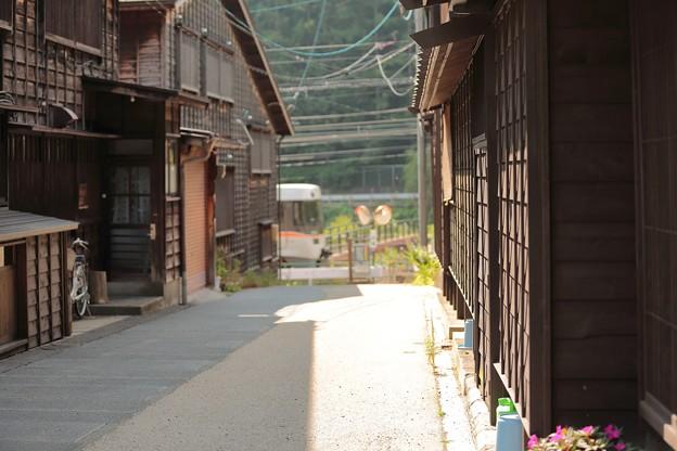 撮り鉄目線の奈良井宿