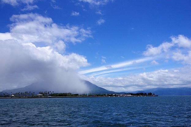写真: 今日の桜島