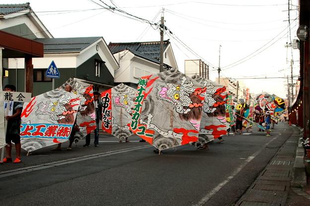大凧のパレード