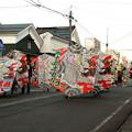写真: 大凧のパレード