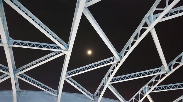 駒形橋上空