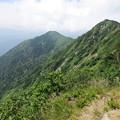 写真: 180726-54再挑戦「霞沢岳登山」・K1ピークからの360度(4/8)