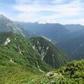 写真: 180726-58再挑戦「霞沢岳登山」・K1ピークからの360度(8/8)