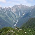 写真: 180726-61再挑戦「霞沢岳登山」・K1ピークからの穂高連峰