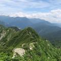 写真: 180726-74再挑戦「霞沢岳登山」・K2ピークからの360度 (10/10)