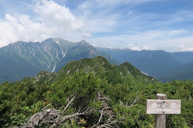 180726-76再挑戦「霞沢岳登山」・霞沢岳からの360度(1/9)