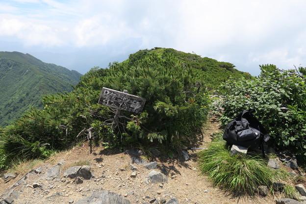180726-80再挑戦「霞沢岳登山」・霞沢岳からの360度(5/9)