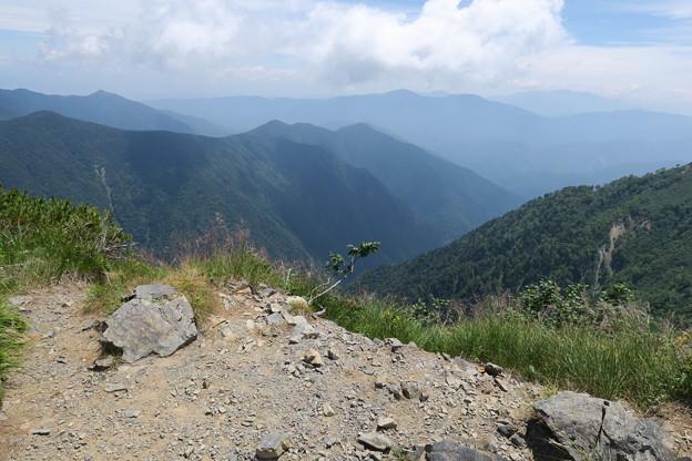 Photos: 180726-82再挑戦「霞沢岳登山」・霞沢岳からの360度(7/9)