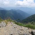 写真: 180726-82再挑戦「霞沢岳登山」・霞沢岳からの360度(7/9)