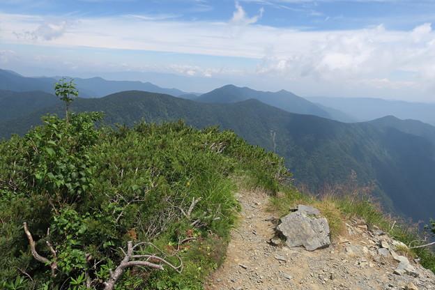 180726-83再挑戦「霞沢岳登山」・霞沢岳からの360度(8/9)