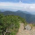 写真: 180726-83再挑戦「霞沢岳登山」・霞沢岳からの360度(8/9)