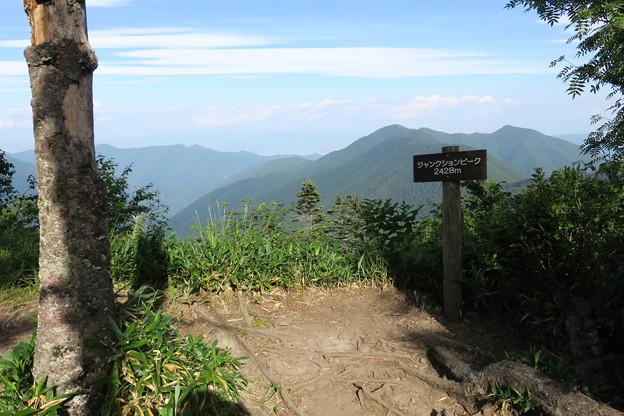 180726-88再挑戦「香住沢岳登山」・ジャンクションピークまで戻ってきました