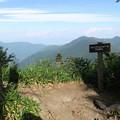写真: 180726-88再挑戦「霞沢岳登山」・ジャンクションピークまで戻ってきました