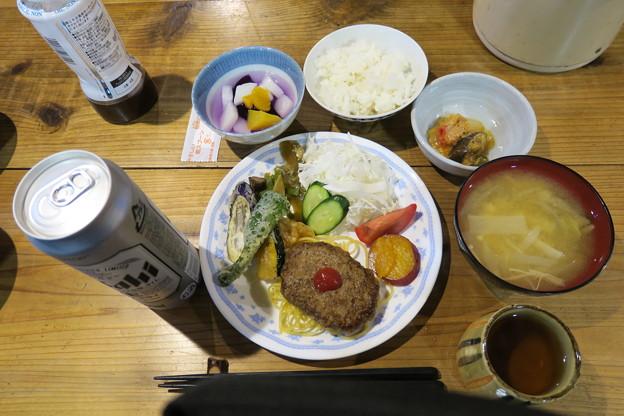 180726-91再挑戦「香住沢岳登山」・夕食