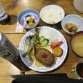 写真: 180726-91再挑戦「霞沢岳登山」・夕食