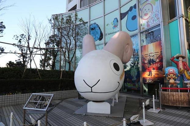 190107-91はとバス・東京1日・お台場・フジテレビ本社ビルにありました