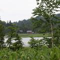 190725-61大江湿原と尾瀬沼・尾瀬沼反時計回り一周・沼尻休憩所が見えてきた