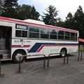 190726-17大江湿原と尾瀬沼・沼山峠休憩所・会津高原尾瀬口駅へのバス