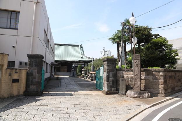191001-138都電荒川線沿線めぐり・妙行寺・入り口