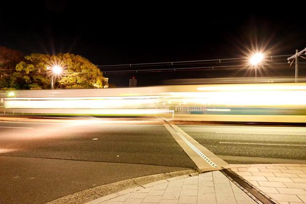 Photos: 高速移動