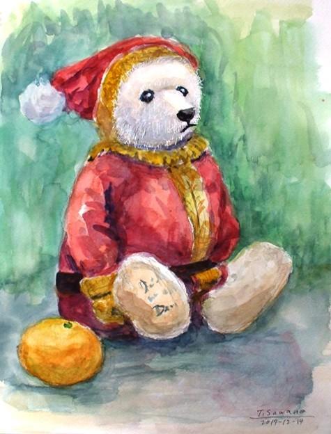 03熊のサンタ