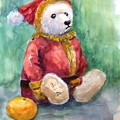 写真: 03熊のサンタ