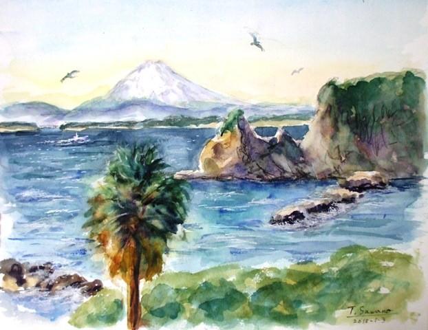 01811正月の海