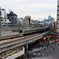写真: 上野駅山下口