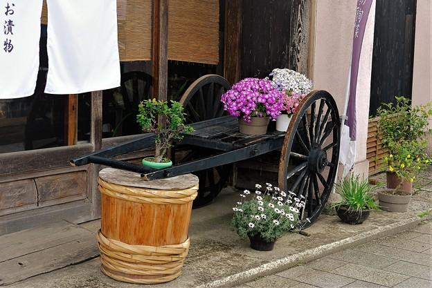 Photos: 漬物店