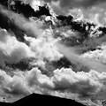 Photos: 黒の夏空