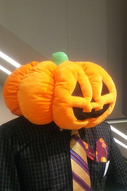 Mr.Pumpkin head