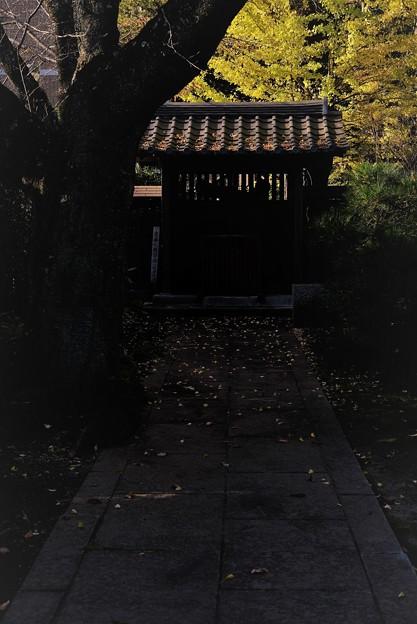 霊廟への道