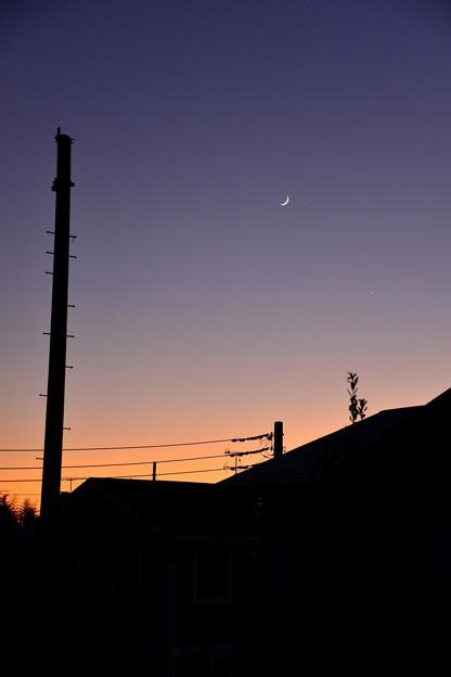 月と星と。