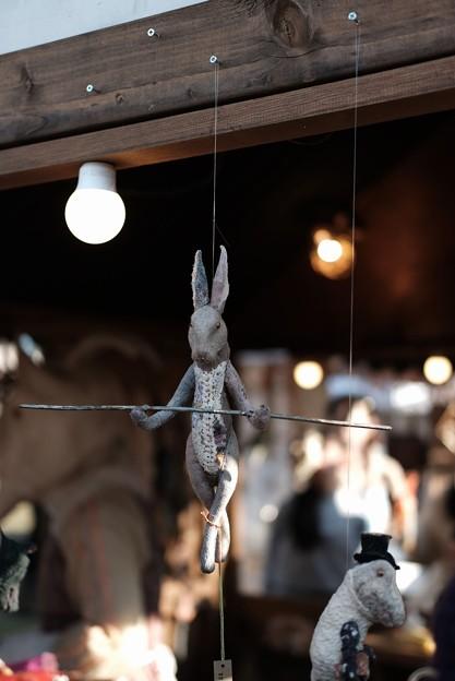 メリーさん作ウサギ