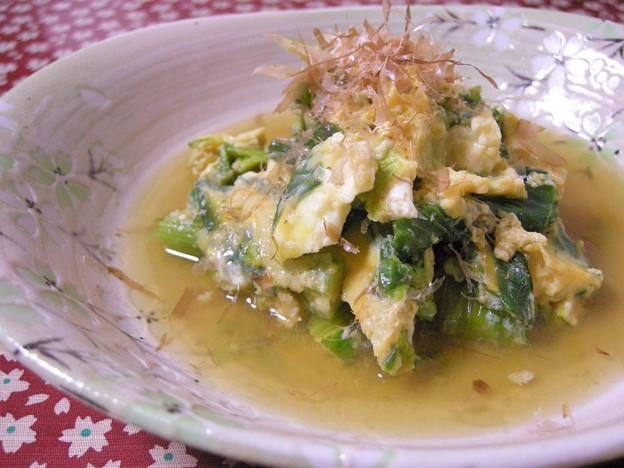 Photos: 菜の花卵とじ