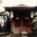 Photos: 稲荷神社、雨。