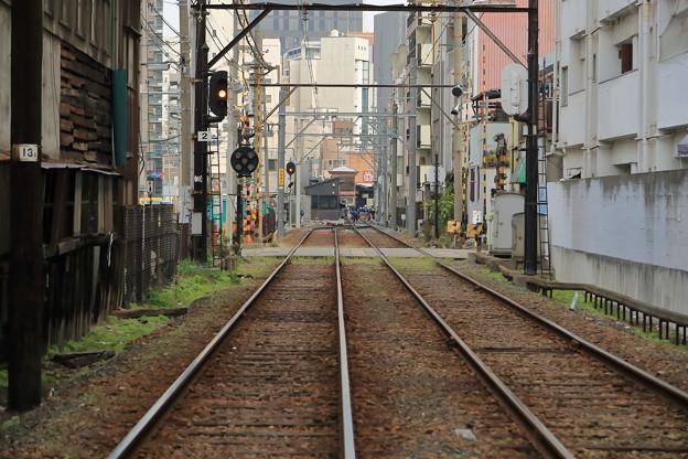 恵美須町場内信号機