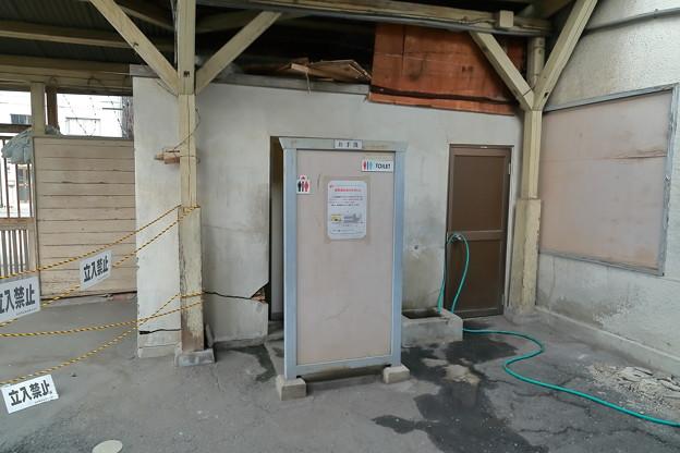 恵美須町停留場トイレ