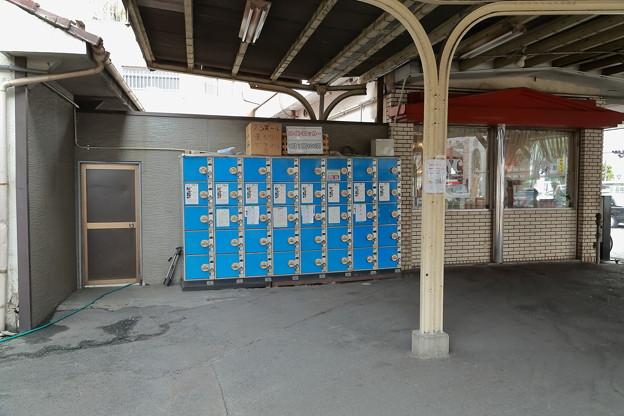 恵美須町停留場コインロッカー