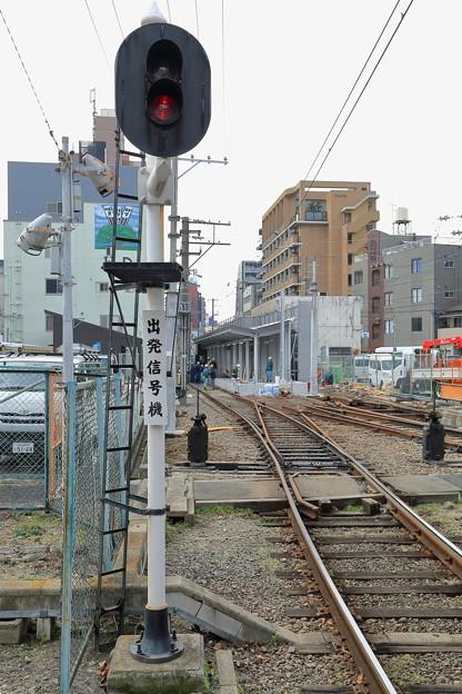 恵美須町出発信号機
