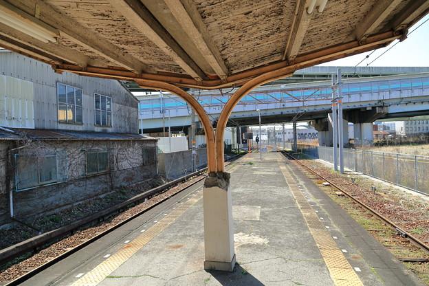木津川駅ホーム