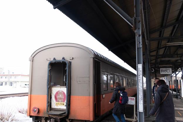 Photos: ストーブ列車2