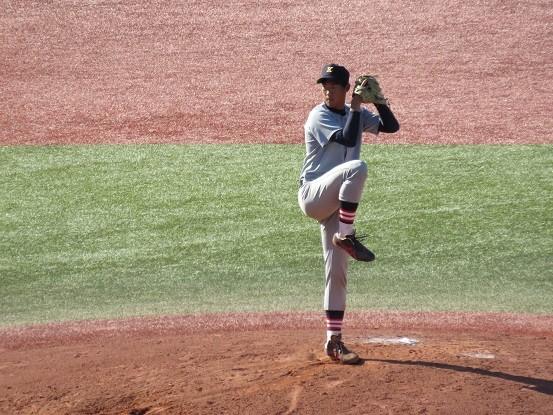 慶大・田中裕貴投手(2018.5.20)