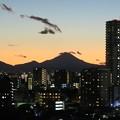 Photos: 2020.12.31_夕暮れの富士山